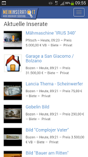 MeinInserat.it - Südtirol- screenshot thumbnail