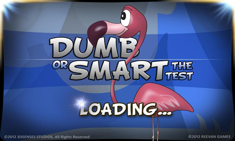 Dumb Or Smart - The Test - screenshot