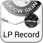 LP Record Clock UCCW Skin