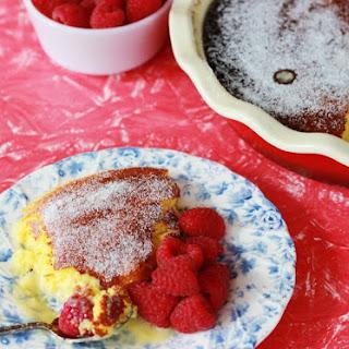 Passionfruit Delicious Pudding