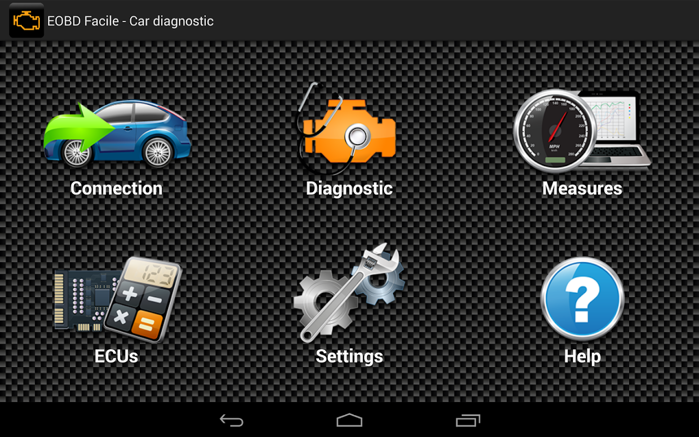e obd2 facile car diagnostics android apps on google play. Black Bedroom Furniture Sets. Home Design Ideas