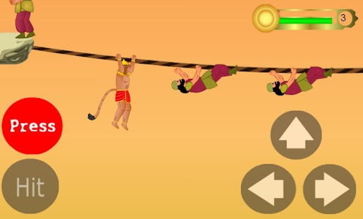 Hanuman the ultimate game- screenshot thumbnail