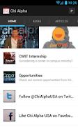 Screenshot of Chi Alpha