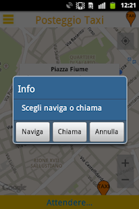 Posteggio Taxi screenshot 3