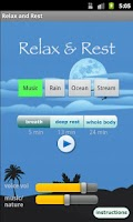 Screenshot of Relax and Rest Meditations