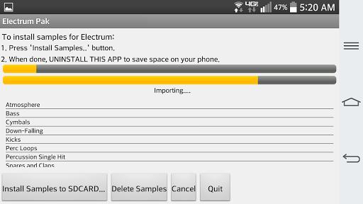 【免費媒體與影片App】Electrum Pak  DrumLoops-APP點子