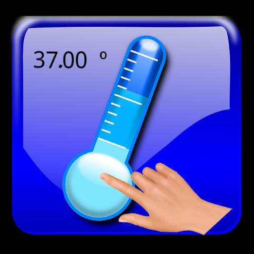 Pegada piada febre termômetro LOGO-APP點子