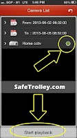 Screenshot of SafeTrolley CCTV HD