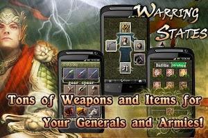 Screenshot of Warring States Premier