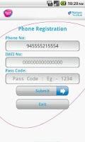 Screenshot of NTB Mobile Banking