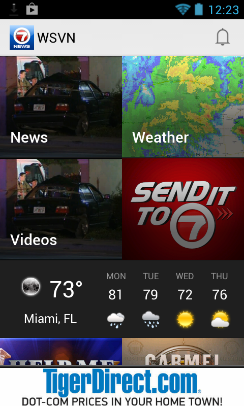 WSVN - 7 News Miami - screenshot