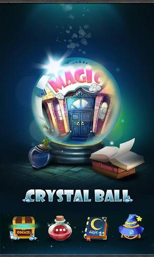 Crystal ball GO Launcher Theme