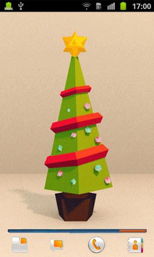 圣诞树 动态壁纸