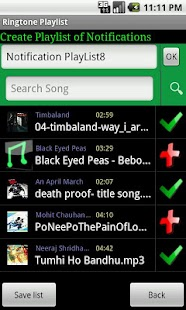 Ringtone Playlist Pro - screenshot thumbnail