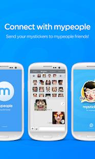 【免費娛樂App】mysticker for mypeople-APP點子