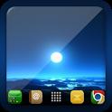 Blue Moon Go Launcher Ex Theme icon