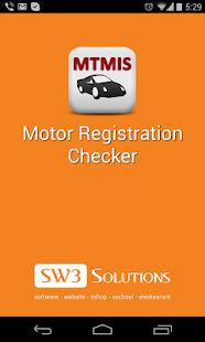 Motor Registration Checker Apps On Google Play