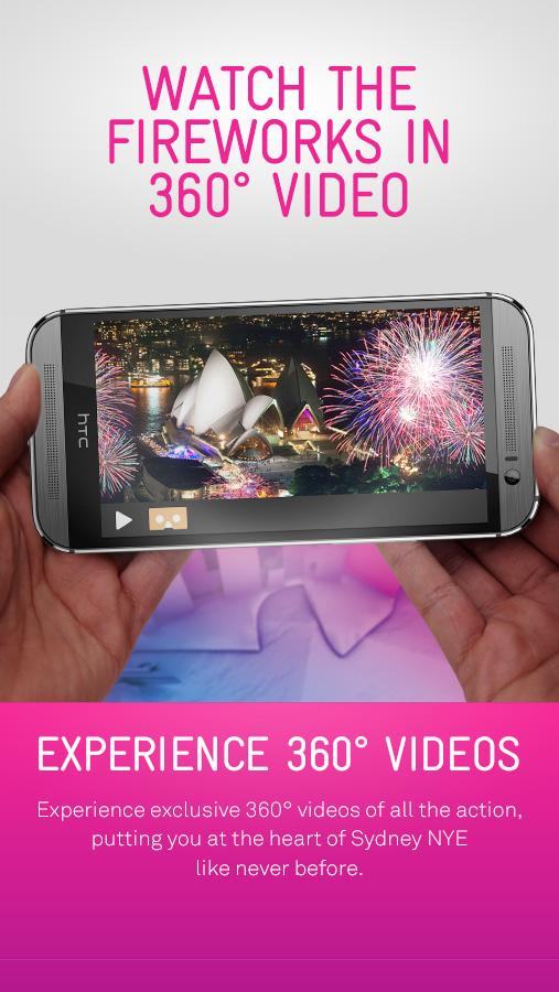 2014 Sydney New Year's Eve App - screenshot