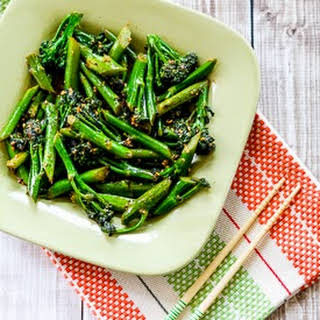 Stir-Fried Broccolini with Oyster Sauce (Low-Carb).