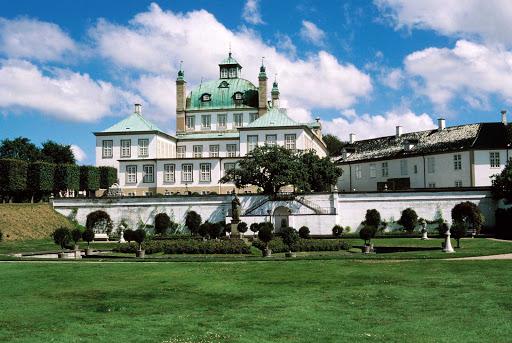 Fredensborg-Castle - Fredensborg Castle on the island of Zealand in Denmark.