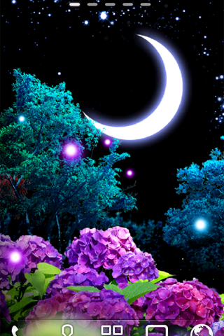 Ajisai Firefly Livewallpaper Android Apps On Google Play