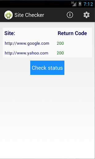 Site Checker