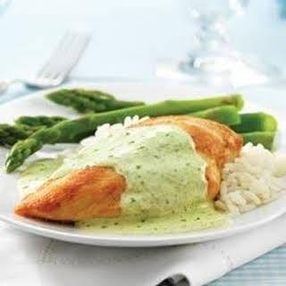 Creamy PHILLY Pesto Chicken.