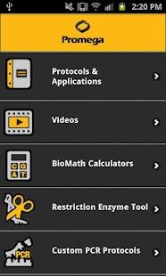 Promega- screenshot thumbnail