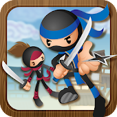 Stickman Ninja Rooftop Run