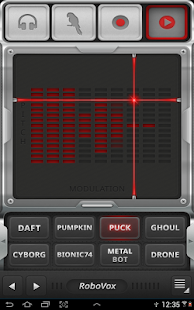 RoboVox Voice Changer Pro- screenshot thumbnail