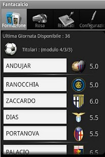 Magic Serie A Fantacalcio - screenshot thumbnail