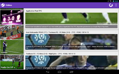 Foot Info Toulouse - screenshot thumbnail