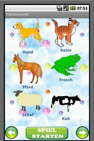 Tierstimmen