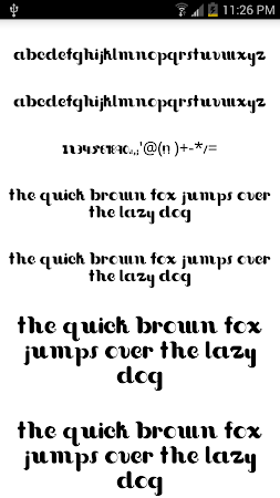 Fonts for FlipFont #15 3.19.1 screenshot 2090730