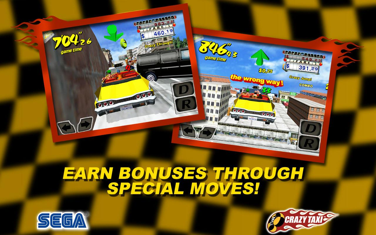Crazy Taxi (International) - screenshot