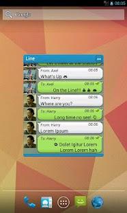 Widget for LINE™ Unlocker