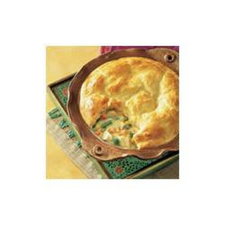 Biscuit-Topped Chicken Pot Pie.