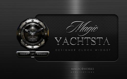 clock widget YACHT designer