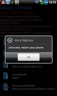 Galaxy_S Unlock - screenshot thumbnail