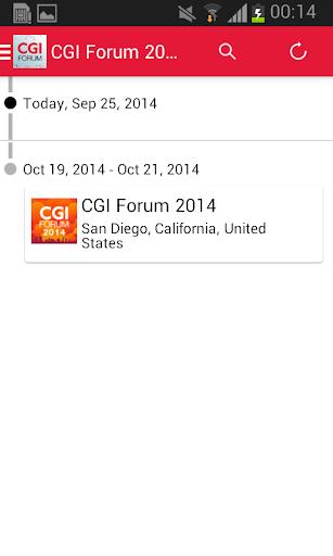CGI Forum 2014