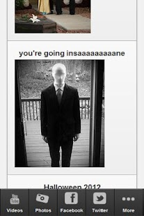 Slender Man Free Fan App - screenshot thumbnail