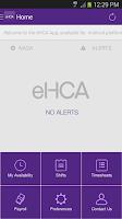 Screenshot of eHCA