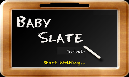 Baby Slate - Icelandic