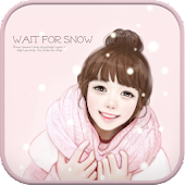 Wait for snow golauncher theme