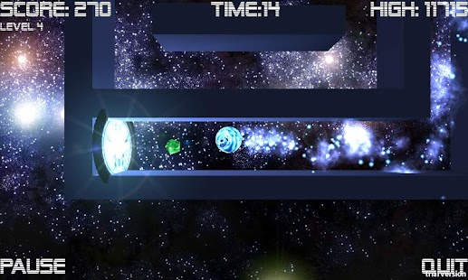 Cosmic Roller Lite - screenshot thumbnail