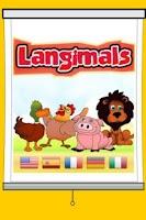 Screenshot of Langimals