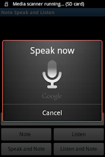 Note, Speak, Listen for Deaf - screenshot thumbnail