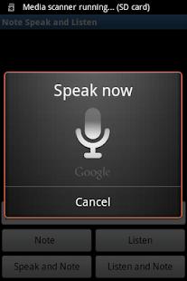 Note, Speak, Listen for Deaf- screenshot thumbnail