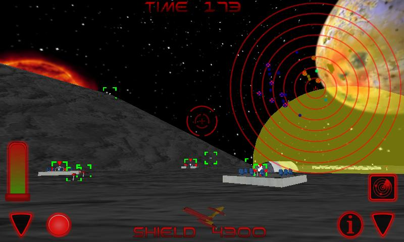 Space Sharks - 3D Shooter- screenshot