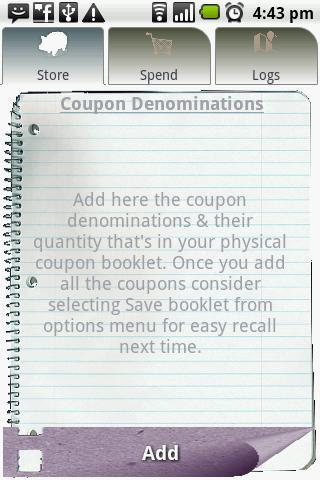 Coupon Calculator- screenshot